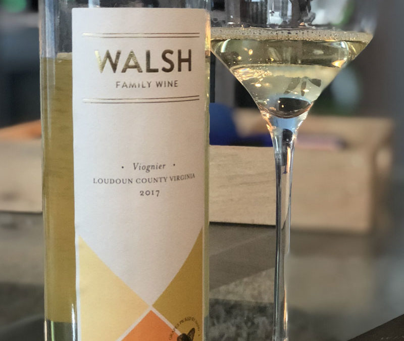 2017 Walsh Family Wine Loudoun County Viognier
