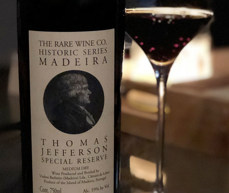 NV Rare Wine Co. Thomas Jefferson Special Reserve Madeira