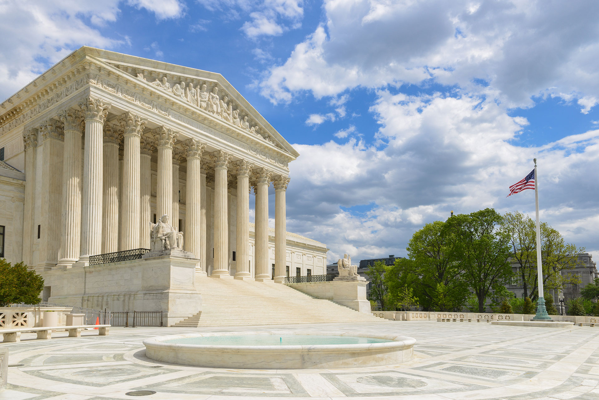 United States Supreme Court Building in Washington D.C.