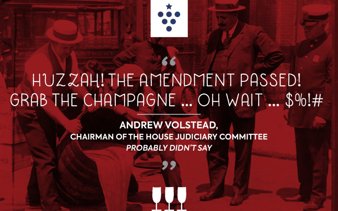 Fake Quote Image for Volstead Act