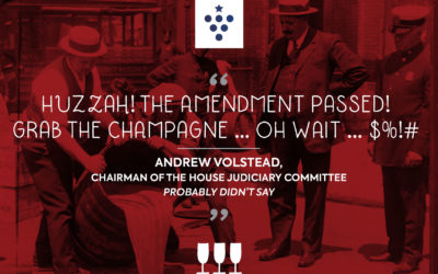 Prohibition: A dark day for democracy … and date night!