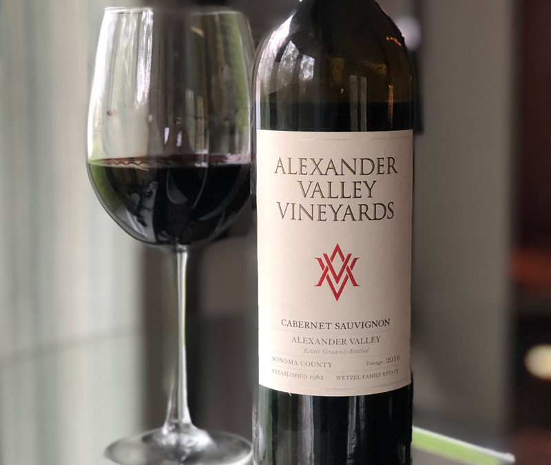 2016 Alexander Valley Vineyards Cabernet Sauvignon
