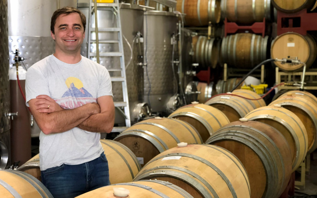 Winemaker Nathan Walsh