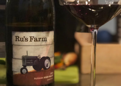 2014 Bella Vineyards Ru's Farm Pinot Noir