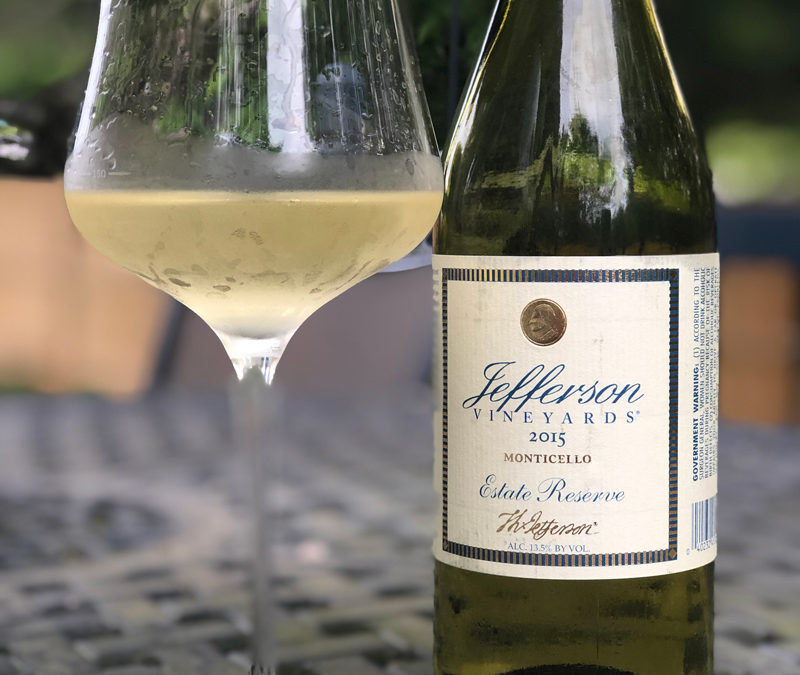 2015 Jefferson Vineyards Estate Reserve White